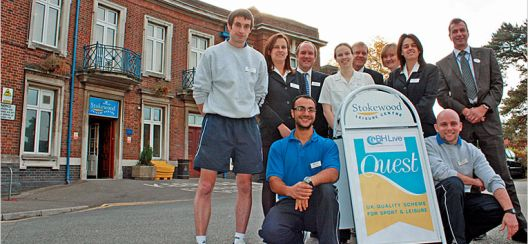 Stokewood Leisure Centre Achieves Excellent Rating From Quest Dwpl
